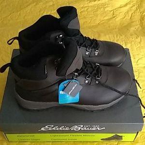 New Eddie Bauer Everett Hiking Boots Size 12